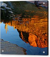Sabino Canyon Reflection Acrylic Print