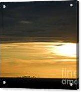 Saccity Sunset Acrylic Print