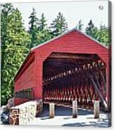 Sachs Covered Bridge 4 Acrylic Print