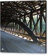 Saco River Covered Bridge Nh Acrylic Print