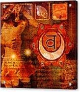 Sacral Chakra Acrylic Print
