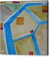 Sacramento River Delta I Acrylic Print