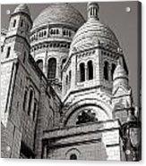 Sacre Coeur Architecture  Acrylic Print