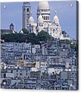 Sacre - Coeur Basilica Acrylic Print