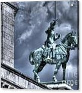 Joan Of Arc Sacre Coeur Paris Acrylic Print