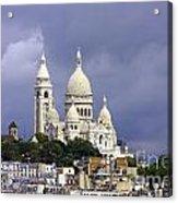 Sacre Coeur Paris France Acrylic Print