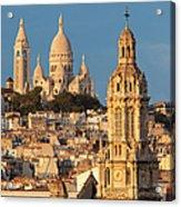 Sacre Coeur - Paris Acrylic Print