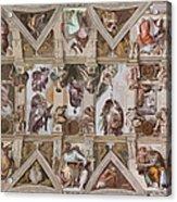 Sacred Ceiling Acrylic Print