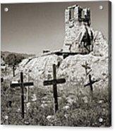 Sacred Cross Acrylic Print