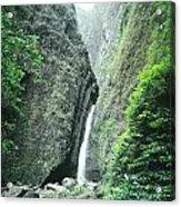 100450-sacred Falls  Acrylic Print