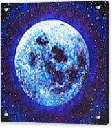 Sacred Feminine Blue Moon Acrylic Print