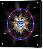 Sacred Geometry 100 Acrylic Print