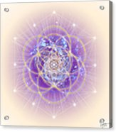 Sacred Geometry 140 Acrylic Print
