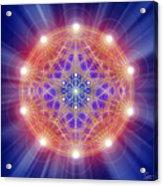 Sacred Geometry 168 Acrylic Print