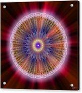Sacred Geometry 176 Acrylic Print