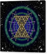 Sacred Geometry 181 Acrylic Print
