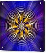 Sacred Geometry 184 Acrylic Print