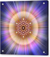 Sacred Geometry 185 Number 2 Acrylic Print
