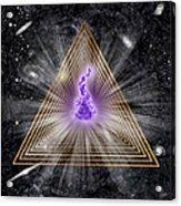 Sacred Geometry 186 Acrylic Print