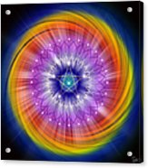 Sacred Geometry 244 Acrylic Print