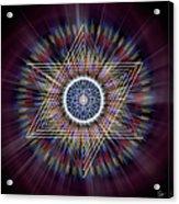 Sacred Geometry 317 Acrylic Print