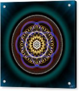 Sacred Geometry 332 Acrylic Print