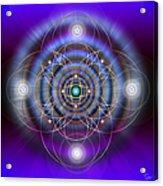 Sacred Geometry 369 Acrylic Print