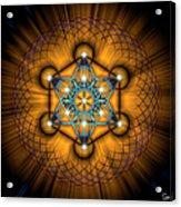 Sacred Geometry 68 Acrylic Print
