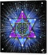 Sacred Geometry 70 Acrylic Print