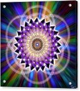 Sacred Geometry 74 Acrylic Print