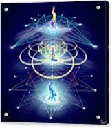 Sacred Geometry 80 Acrylic Print