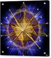 Sacred Geometry 91 Acrylic Print