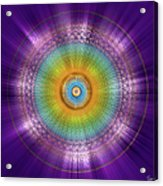 Sacred Geometry 96 Acrylic Print