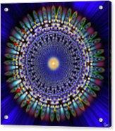 Sacred Geometry 97 Acrylic Print
