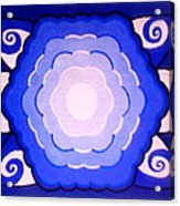 Sacred Geometry Mandala Acrylic Print