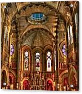 Sacred Heart Cultural Center Acrylic Print