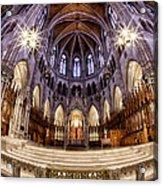 Sacred Heart Sanctuary Acrylic Print