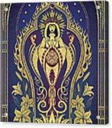Sacred Mother - Global Goddess Series Acrylic Print