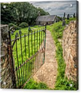 Sacred Path Acrylic Print by Adrian Evans