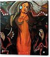 Sacred Prayer Dance Acrylic Print