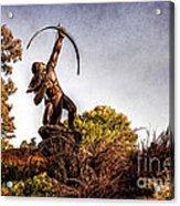 Sacred Rain Arrow Acrylic Print