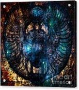 Sacred Scarab Acrylic Print