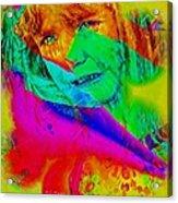 Sad Fairy Acrylic Print