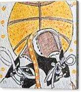 Saddle Oxfords And Basketball Acrylic Print