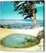 Saddle Rock Oasis Acrylic Print