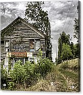 Saddle Store 3 Of 3 Acrylic Print by Jason Politte