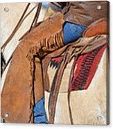 Saddle Up I Acrylic Print