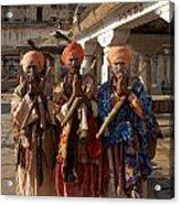 Sadus Holy Men Of India Acrylic Print