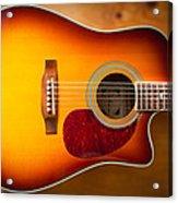 Saehan Guitar Body Acrylic Print