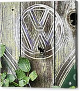 Safari Fence Acrylic Print